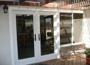 New French Doors and Window